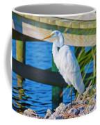 Topsail Egret Coffee Mug