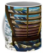 Topsail Island Ocean Steps Coffee Mug