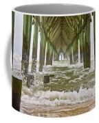 Topsail Island Pier Coffee Mug