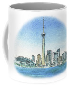 Toronto Canada City Skyline Coffee Mug