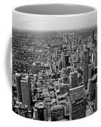 Toronto Ontario Scrapers In Black And White Coffee Mug