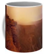 Toroweap Overlook Storm Sunrise Coffee Mug