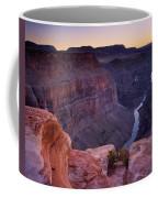 Toroweap Overlook Sunset Coffee Mug