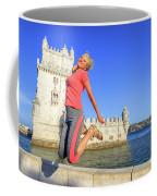 Torre De Belem Jumping Coffee Mug