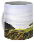 Torrey Pines South Golf Course Coffee Mug by Bill Holkham