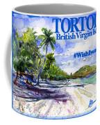 Tortola British Virgin Islands Shirt Coffee Mug