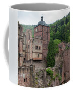 Torturm And Seltenleer Heidelberger Schloss Coffee Mug