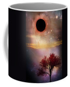 Total Eclipse Of The Sun Tree Art Coffee Mug