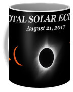 Total Solar Eclipse Stages Coffee Mug