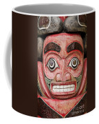 Totem Pole Detail Coffee Mug