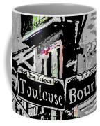 Toulouse And Bourbon Coffee Mug