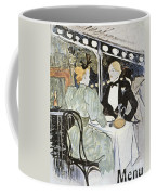 Toulouse-lautrec: Menu Coffee Mug