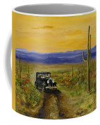 Touring Arizona Coffee Mug by Jack Skinner