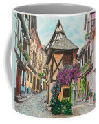 Touring In Eguisheim Coffee Mug