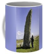 Tourist Admires The Trushal Stone Coffee Mug