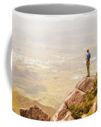 Tourist On The Tip Of Western Tasmania Coffee Mug