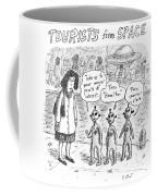 Tourists From Space Coffee Mug