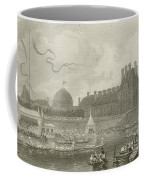Tournay On The Seine During The July Fetes Coffee Mug