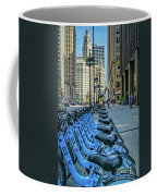Towards Wrigley Building Coffee Mug