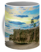 Tower And Rocks Coffee Mug
