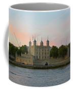 Tower Of London On The Thames Coffee Mug