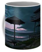 Tower Over The Shoreline Coffee Mug