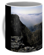 Tower Ridge From Ben Nevis Summit Fort William Lochaber Invernesshire Scotland Coffee Mug