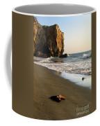 Towering Cliffs On Ocean Front Coffee Mug