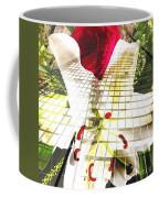 Towering Lily And Rose Coffee Mug