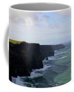 Towering Sea Cliffs In Ireland's County Clare Coffee Mug