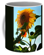 Towering Sunflower Coffee Mug