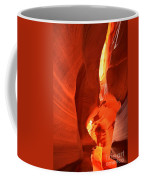 Towering Walls Of Antelope Canyon Coffee Mug