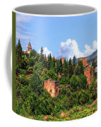 Towers Of The Alhambra Coffee Mug