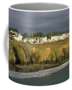 Town At The Seaside, Mendocino Coffee Mug