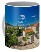 Town Of Betina Architecture And Coast Coffee Mug