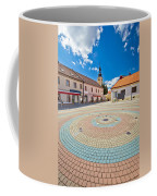 Town Of Ludbreg Square Vertical View Coffee Mug