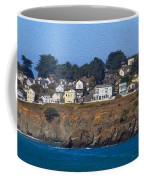 Town Of Mendocino Coffee Mug