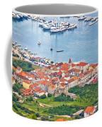 Town Of Seget Aerial View Coffee Mug