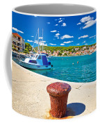 Town Of Tisno Harbor And Waterfront Coffee Mug