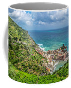 Town Of Vernazza, Cinque Terre, Italy Coffee Mug
