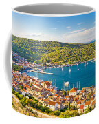 Town Of Vis Panorama From Hill Coffee Mug