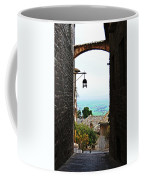 Town View In Italy Coffee Mug