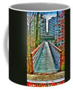 Towson University Walkway Coffee Mug