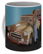 Toy Car Holiday Coffee Mug