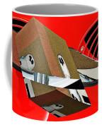 Toy Owl Bump Map As Art Coffee Mug