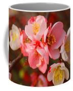 Toyo-nishiki Quince Blooms Coffee Mug
