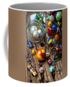 Toys And Marbles Coffee Mug by Garry Gay