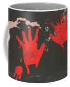 Trace Of A Serial Killer Coffee Mug