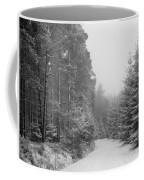 Track, Winter, Slaley Woods Coffee Mug