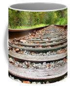 Tracking To The Right And Around The Bend Coffee Mug